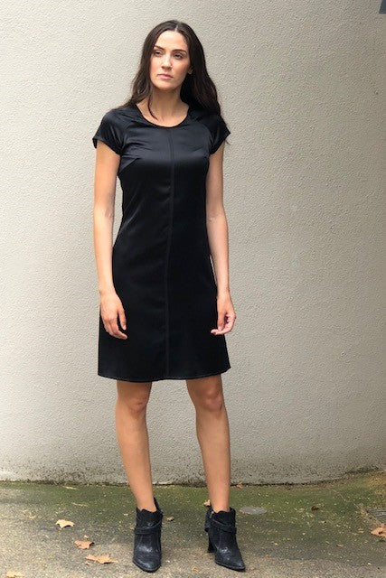 SEPT. 18. T-Shirt Dress- Stretch Silk - 30% OFF