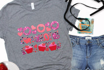 valentine holiday st patricks day graphic teeshirts wholesale for women