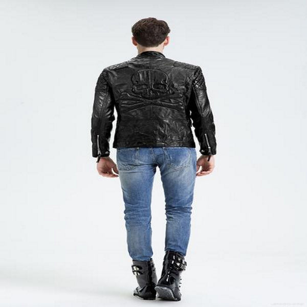 Skull Leather Jacket
