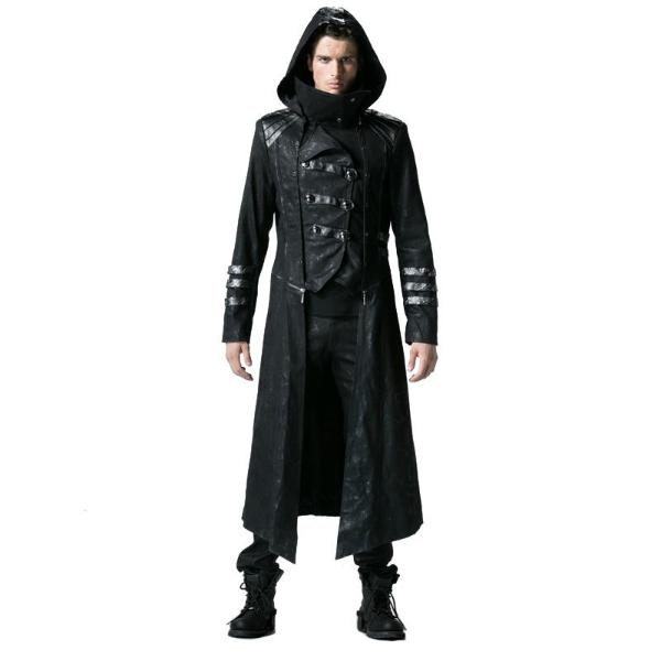 Gothic Black Winter Jackets