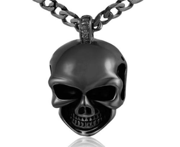 Gothic Skull Pendant Necklace