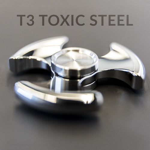 T3 - Toxic, Stainless Steel Polish, R188 Bearings