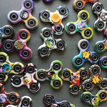ABS Plastic Fidget Spinner - Multiple Colours Available, 608 Bearings