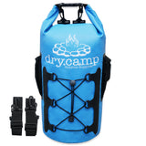 Waterproof Dry Bag 15L (Blue) by dry.camp - dry.camp