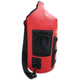 Waterproof Dry Bag 15L (Red) by dry.camp - dry.camp