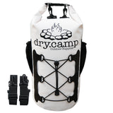 Waterproof Dry Bag 15L (White) by dry.camp - dry.camp