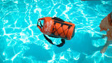 Waterproof Dry Bag 15L (Orange) by dry.camp - dry.camp