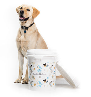 5 Gallon Dog Storage Container