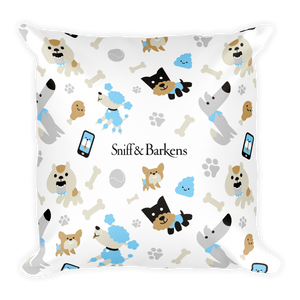 'Year of the Dog' Square Pillow
