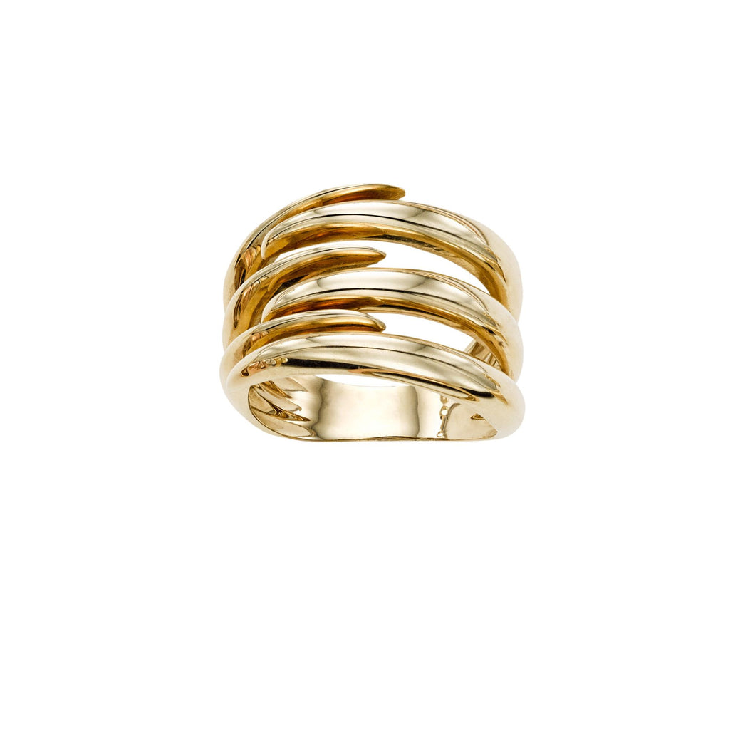 14K Gold Wrap Ring