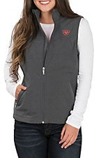 Team Softshell Vest Graphic Heather