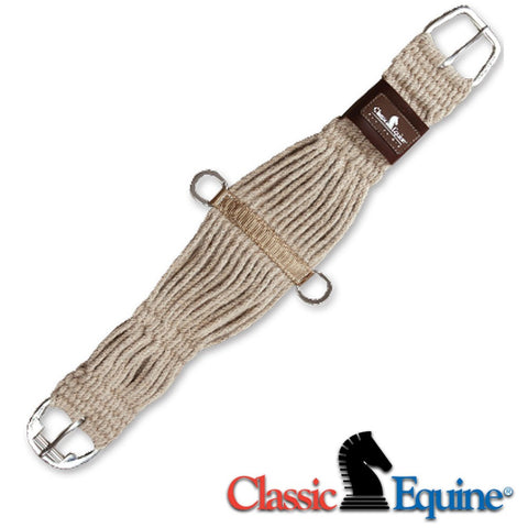 100% Mohair Roper Cinch with Nylon Center