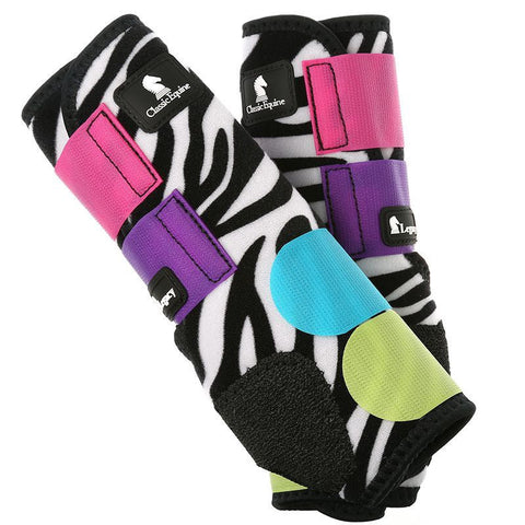 Legacy Splint Boot - Zebra Colorburst
