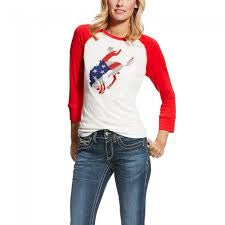 Women's Wild West Raglan