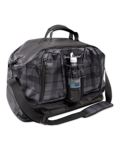 Plaid Black Weekend Duffel Bag