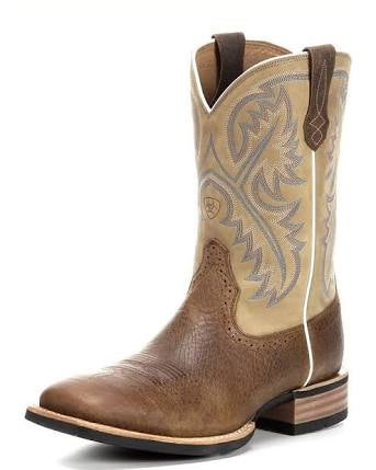 Ariat Mens Quickdraw Tumbled Bar/Beige