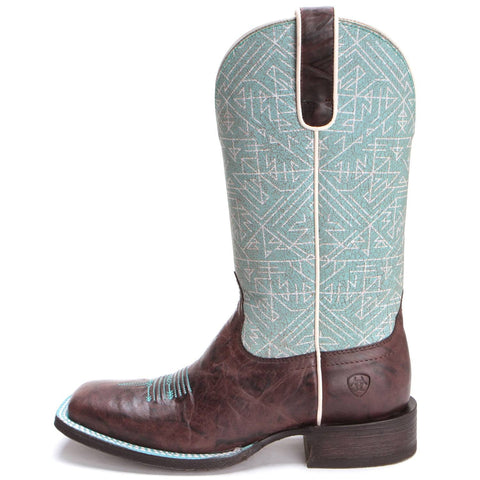 Ladies Circuit Savana Chief Choc/Blue Tribal