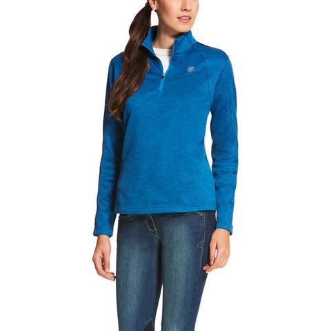 Ariat Conquest 1/4 Zip Rush Blue