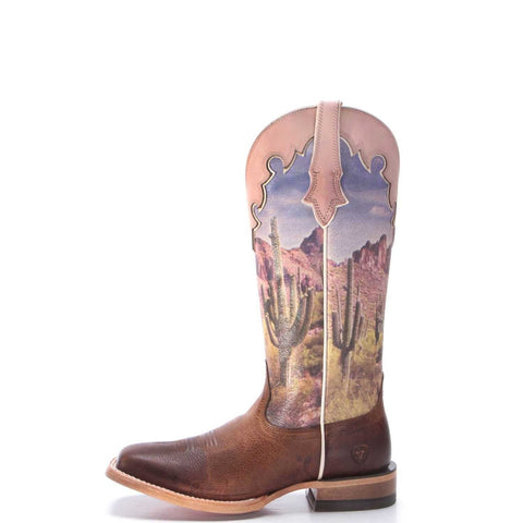 Ladies Fonda Southwestern Scene Boot