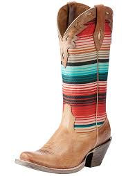 Ladies Circuit Cheyenne Crackled Tan