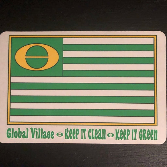 Eco Flag Sticker