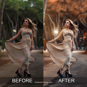 Autumn Sensation - Photoshop Actions