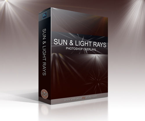 Sun & Light Rays - Overlays