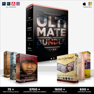 ULTIMATE Professional Photo Editing Bundle | BUNDLE OF ALL BUNDLES 2020