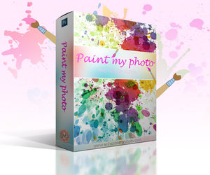 Paint my photo - Photoshop Actions