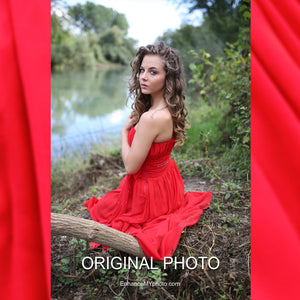 The Red Dress - Video Tutorial - English