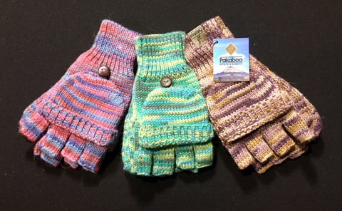 Heather Print 2-Way Gloves