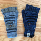 Striped Mitten Gloves