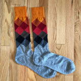 Argyle Pakaboo Dress Socks