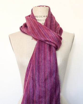 Hand-woven Alpaca Scarf for Christmas