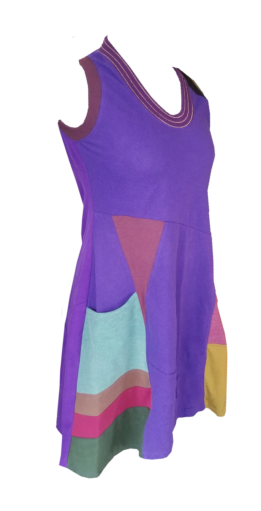 Inner Landscape (tank dress)- Queen of Purple