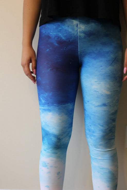 Falling From The Sky Leggings