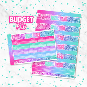 "August ""Mermaid Glitter"" Budget Kit"