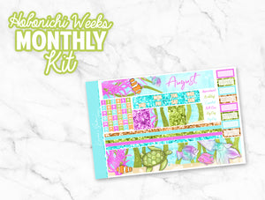 "August ""Mermaid Wishes"" HOBONICHI Weeks Monthly Kit"
