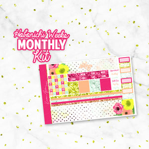 "May ""May Flowers"" Hobonichi Weeks Monthly Kit"