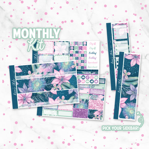 "August ""Isla"" Monthly Overview Kit"