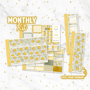 "May ""Flower Power"" Monthly Overview Kit"
