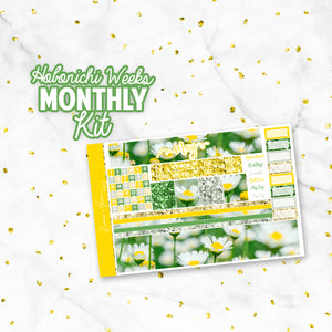 "May ""Daisy"" Hobonichi Weeks Monthly Kit"