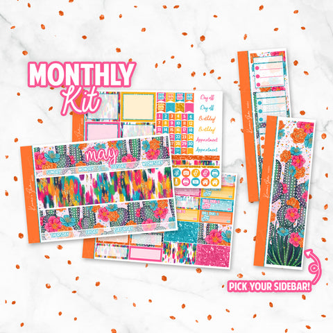 "May ""Cinco De Mayo"" Monthly Overview Kit"
