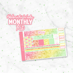 May Glitter Hobonichi Weeks Monthly Kit