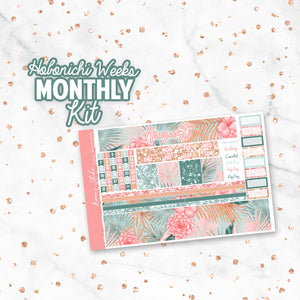 "August ""Boho Summer"" HOBONICHI Weeks Monthly Kit"