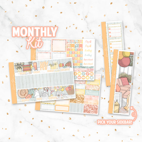 "May ""Book Lover"" Monthly Overview Kit"