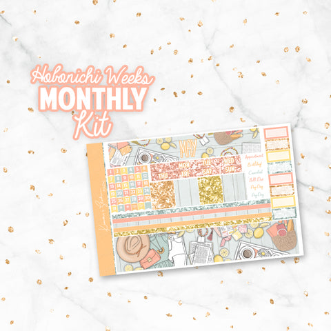 "May ""Book Lover"" Hobonichi Weeks Monthly Kit"