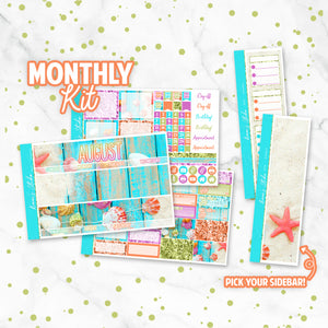 "August ""Seashells"" Monthly Overview Kit"