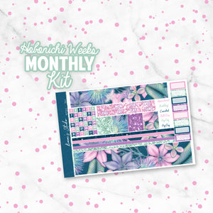 "August ""Isla"" HOBONICHI Weeks Monthly Kit"