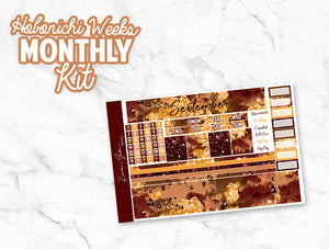 "September ""Wild at Heart"" HOBONICHI Weeks Monthly Kit"